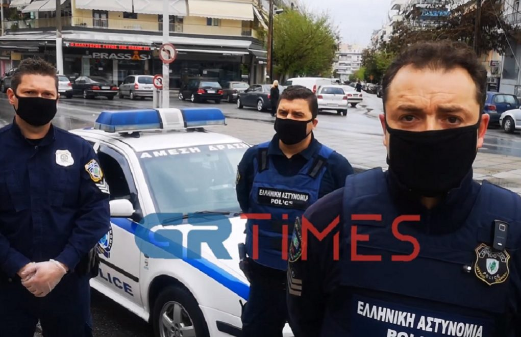 Κορωνοιός: Κοντά στους πολίτες η αστυνομία – Διαρκείς οι έλεγχοι (VIDEO)