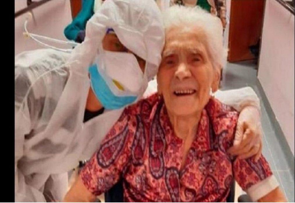 Ιταλία: Γιαγιά ετών 104 νίκησε τον κορωνοϊό!