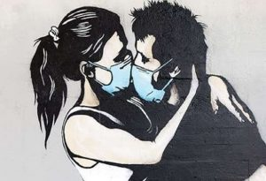 Οι street artists εμπνέονται από την πανδημία (ΦΩΤΟ)