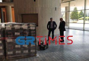 Δήμος Θεσ/νικης: Διανομή τροφίμων σε ευπαθείς ομάδες