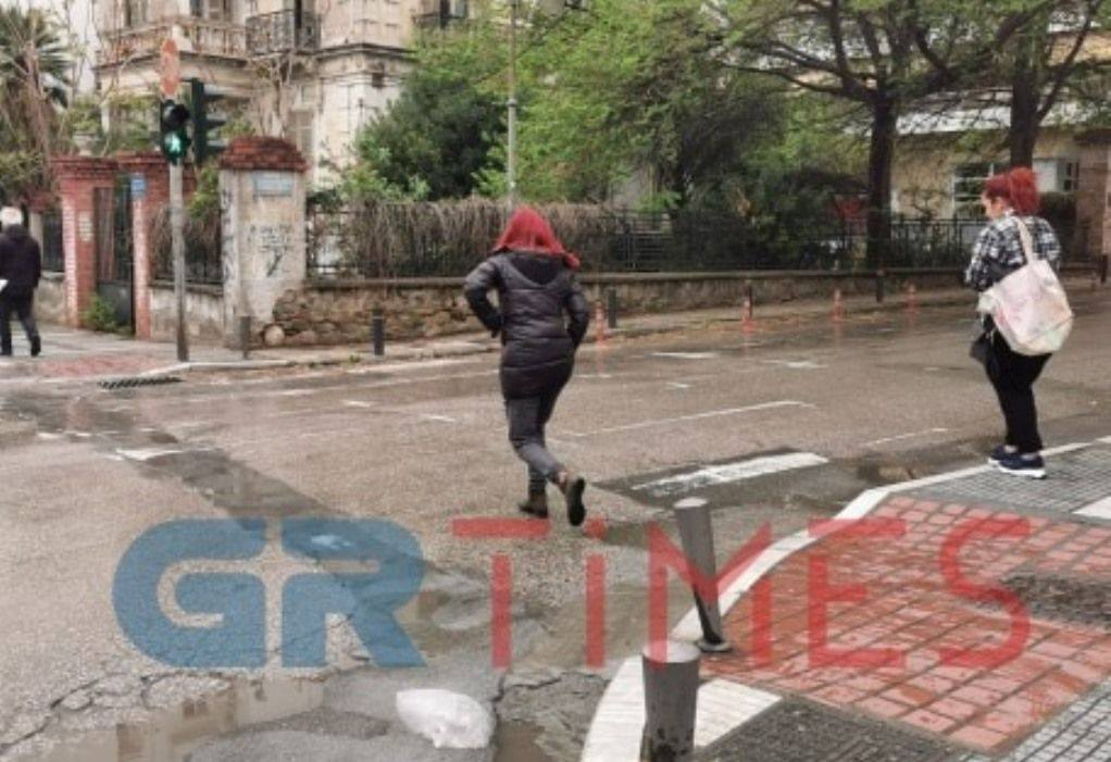 Θεσσαλονίκη: Υπό εξαφάνιση οι διαγραμμίσεις (ΦΩΤΟ)