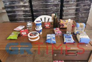 Αμπελόκηποι: Διανομή τροφίμων παρουσία Τζιτζικώστα (ΦΩΤΟ-VIDEO)