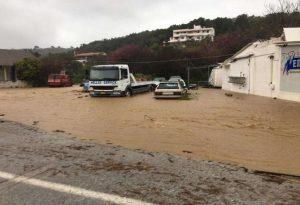 Κακοκαιρία: Μεγάλες καταστροφές σε Σκιάθο, Σκόπελο, Νότιο Πήλιο και Ζαγορά