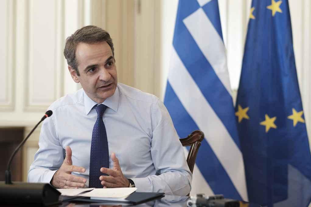 Τηλεδιάσκεψη Μητσοτάκη με πρόεδρο Δημοκρατικού Κόμματος της Αλβανίας