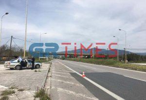 Ένας τραυματίας σε τροχαίο στην Ε.Ο Θεσσαλονίκης-Ν. Μουδανιών