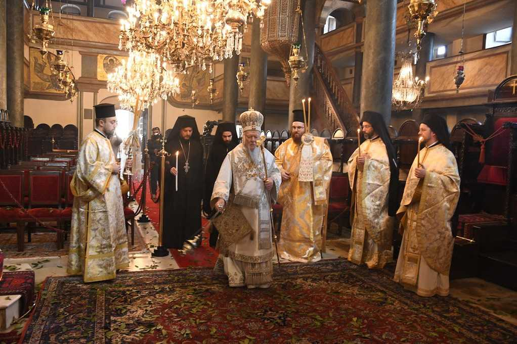 H Κυριακή του Πάσχα στο Οικουμενικό Πατριαρχείο