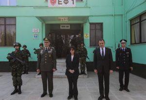 Τι δήλωσε από τον Έβρο ο υπουργός Άμυνας