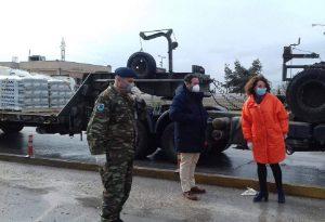 Πατουλίδου: Η Θεσσαλονίκη στηρίζει τα στρατόπεδα στον Έβρο
