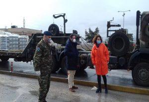 Με πρωτοβουλία Πατουλίδου 25 τόνοι τσιμέντου σε στρατόπεδα του Έβρου