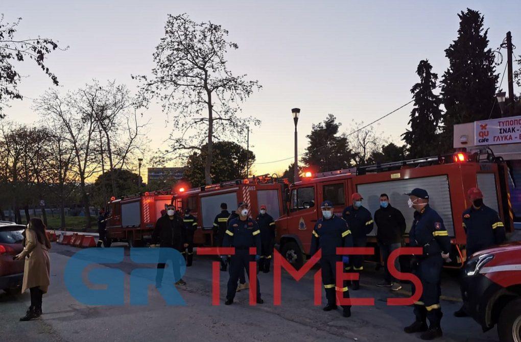 ΑΧΕΠΑ: Στο πλευρό γιατρών και νοσηλευτών οι πυροσβέστες (ΦΩΤΟ-VIDEO)