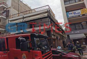 Θεσ/νίκη: Συναγερμός για φωτιά σε διαμέρισμα (ΦΩΤΟ+VIDEO)