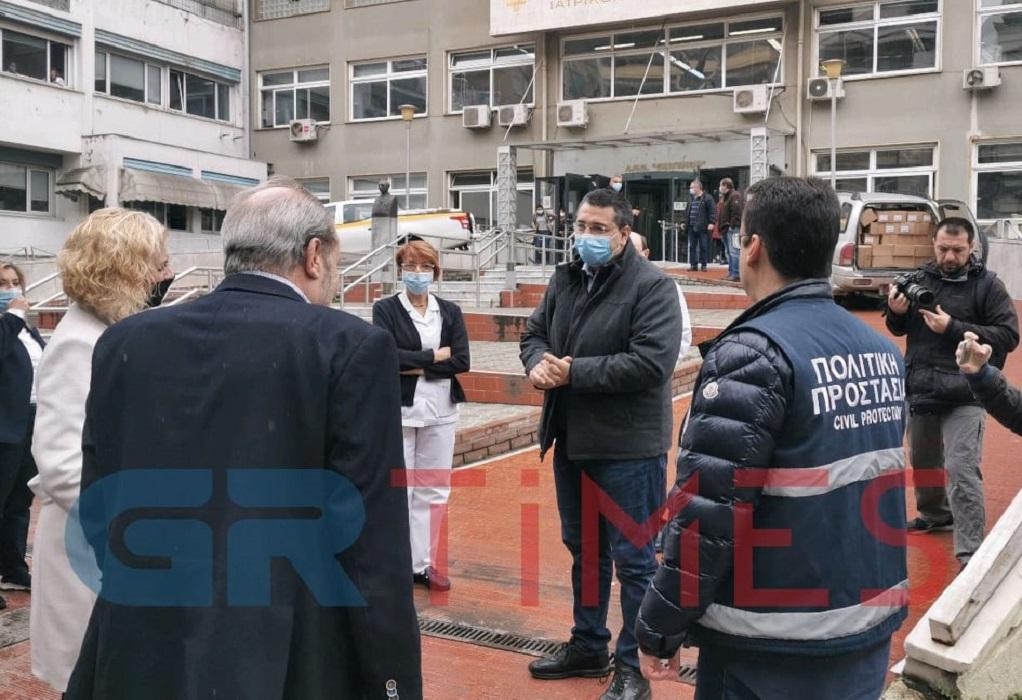 ΠΚΜ: Πρόσφερε μέσα προστασίας στο Θεαγένειο(ΦΩΤΟ-VIDEO)