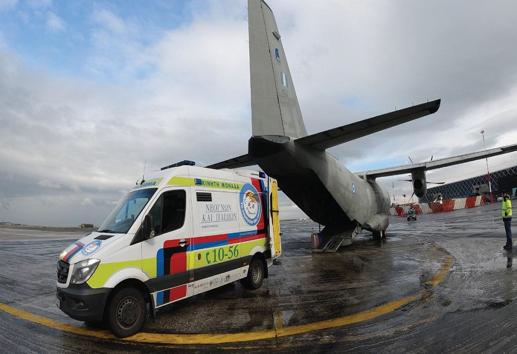 Θεσ/νικη: Κατεπείγουσα αεροδιακομιδή 20χρονου στη Γερμανία