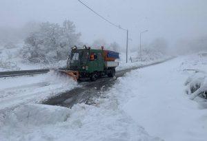Ρεκόρ χιονοκάλυψης τον Απρίλιο στην Ελλάδα
