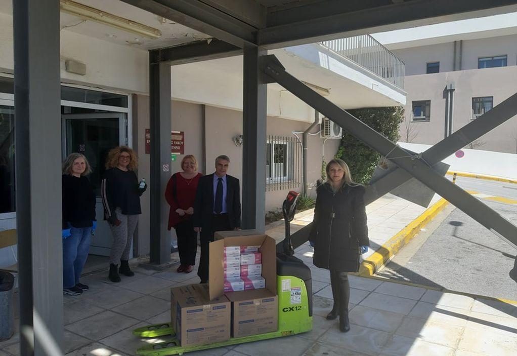 ΠΕΧ: Δωρεά 5.000 μασκών στο νοσοκομείο Χαλκιδικής