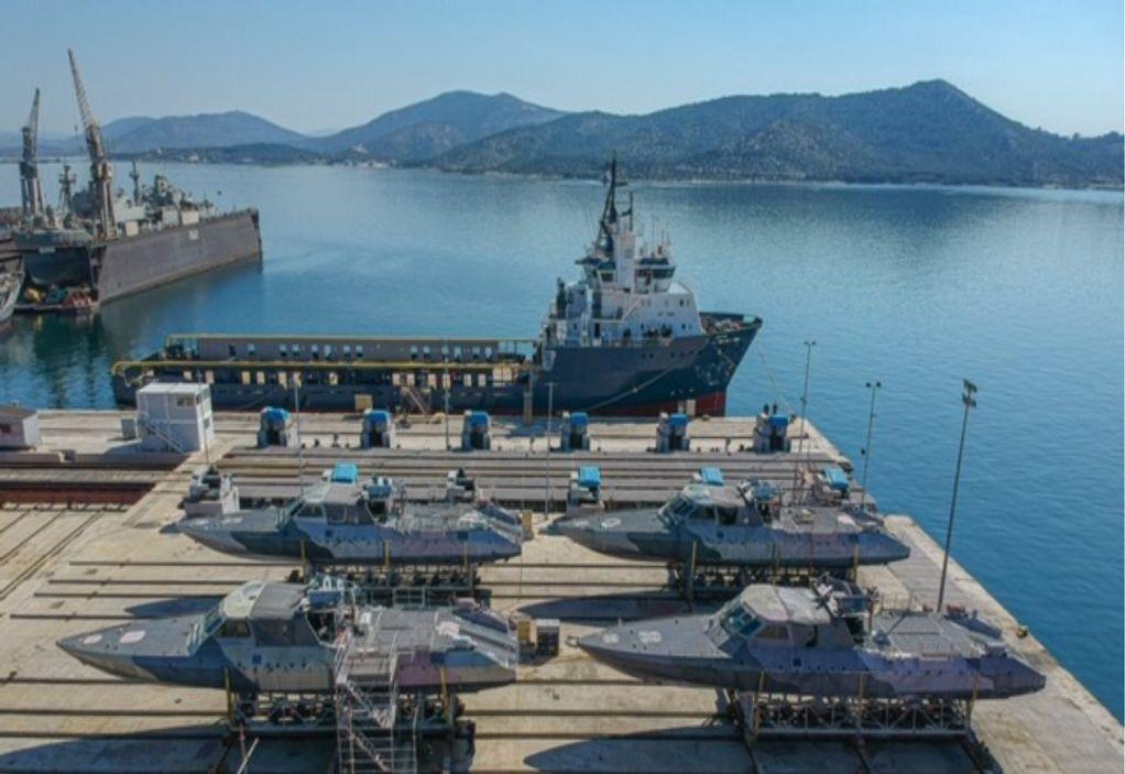 Αμερικανικά σκάφη παρέλαβε το Πολεμικό Ναυτικό (ΦΩΤΟ)
