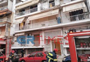 Θεσσαλονίκη: Συναγερμός για φωτιά σε διαμέρισμα (ΦΩΤΟ+ VIDEO)