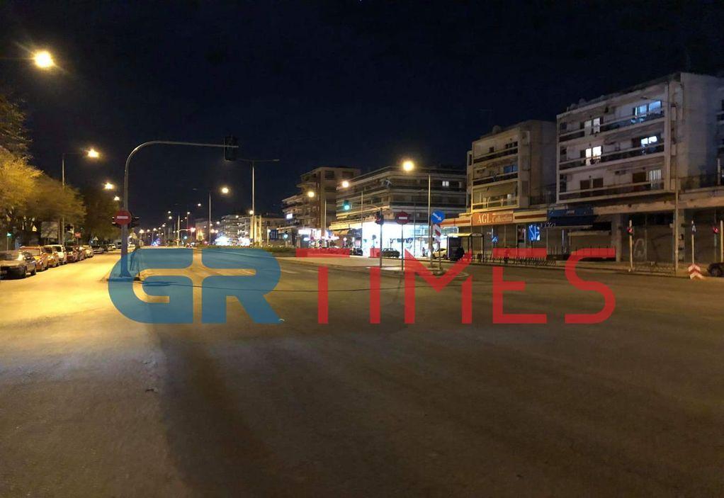 Θεσσαλονίκη: Δείτε την πόλη από την οδό Λαγκαδά τώρα (LIVE)