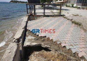 Νέα ντοκουμέντα της καταστροφής στην ακτή Ν. Ηράκλειας