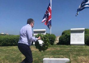 Αρναουτάκης: Τιμή και δόξα στους ήρωες της Μάχης της Κρήτης