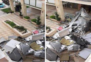 Θεσ/νίκη: Έκρηξη σε ΑΤΜ στα Λαγυνά (ΦΩΤΟ)