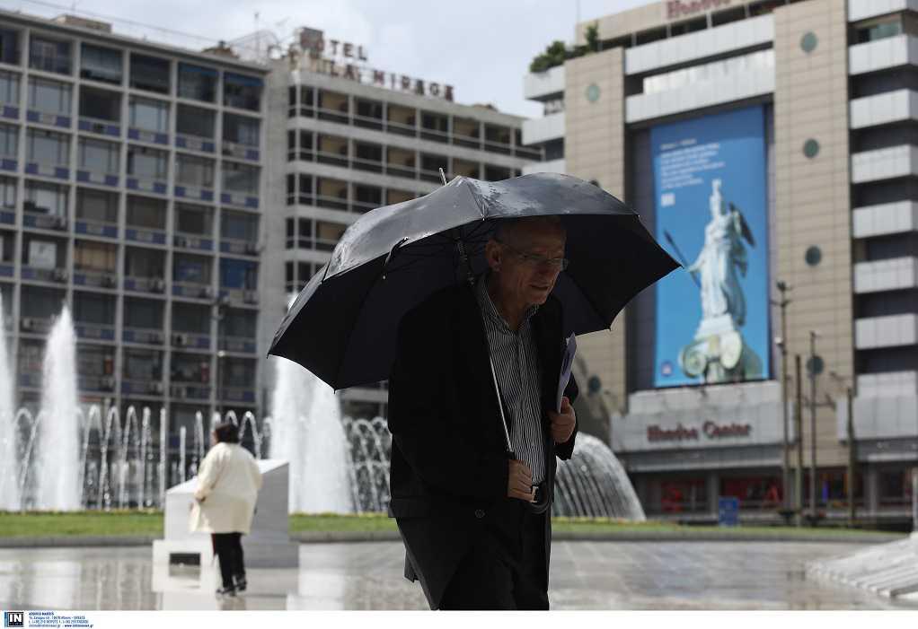 «Άνοιξαν οι ουρανοί» στην Αθήνα (ΦΩΤΟ)