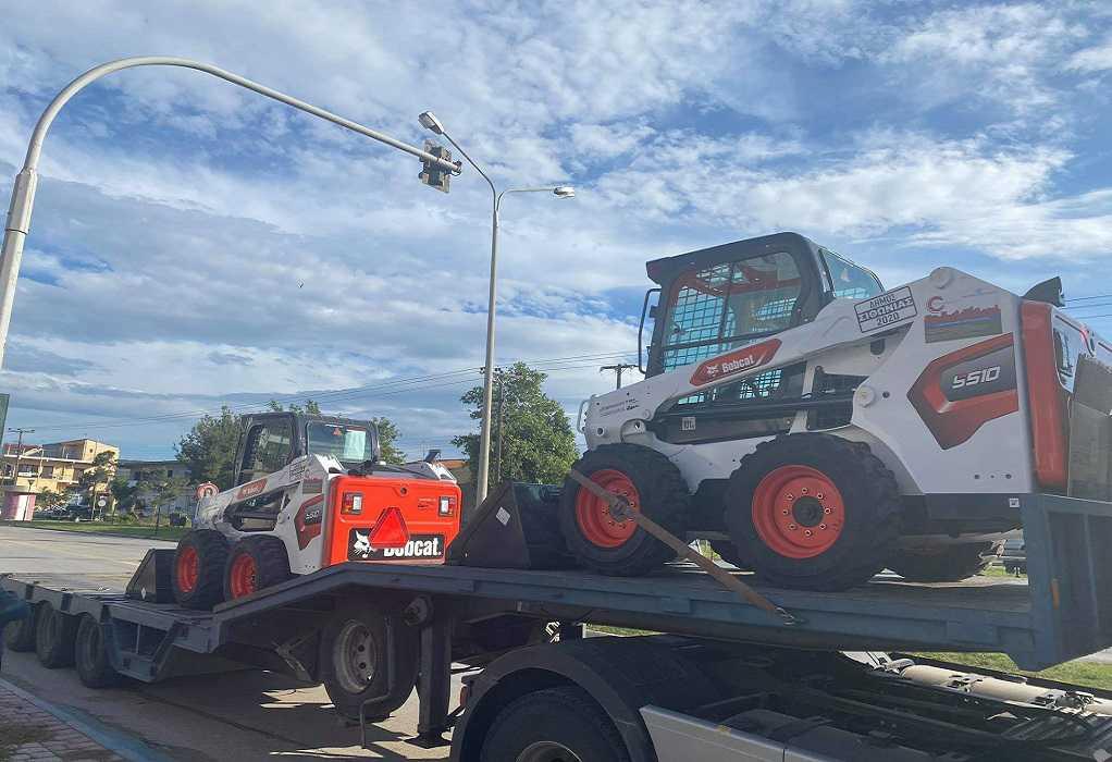 Δήμος Σιθωνίας: Παραλαβή νέων μηχανημάτων έργων (ΦΩΤΟ)