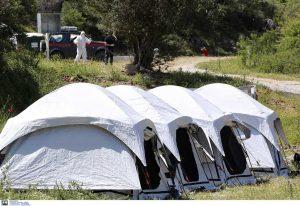 Μυτιλήνη: Νέα κρούσματα σε δομή προσφύγων-μεταναστών