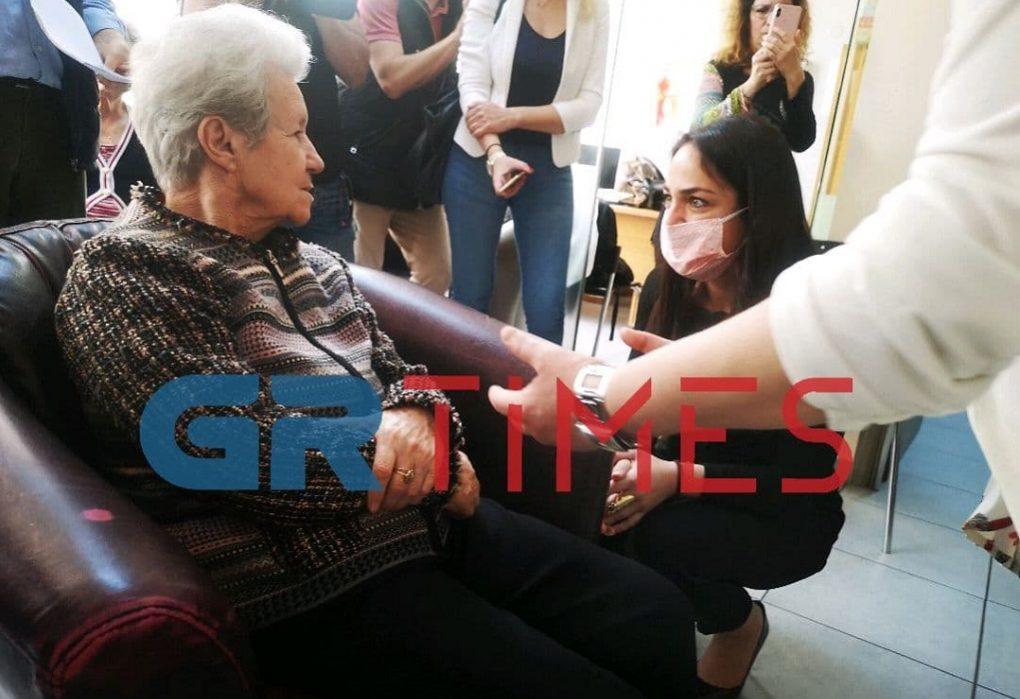Η Δόμνα Μιχαηλίδου σε κοινωνικές δομές του Δ. Θεσσαλονίκης (ΦΩΤΟ-VIDEO)
