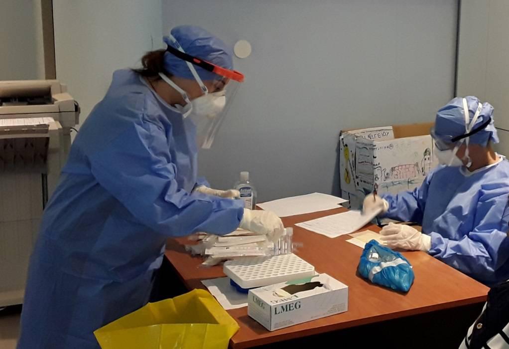 Νέα δειγματοληψία με rapid tests στη Λάρισα