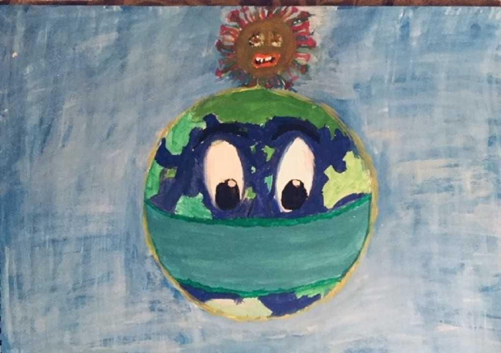 Τα παιδιά ζωγραφίζουν τον κορωνοϊό (ΦΩΤΟ)