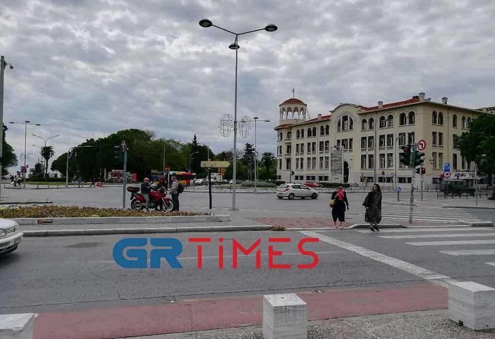 Θεσ/νίκη: Δείτε εικόνα από την πλατεία της ΧΑΝΘ (VIDEO)