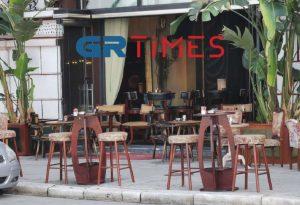 Άνοιξαν οι καφετέριες στη Θεσσαλονίκη (ΦΩΤΟ)