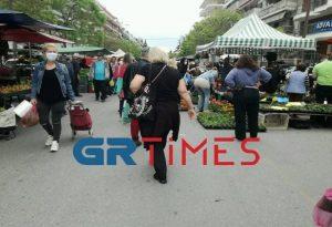 Θεσ/νίκη: «Πατείς με πατώ σε» στη λαϊκή της Βούλγαρη (ΒΙΝΤΕΟ-ΦΩΤΟ)