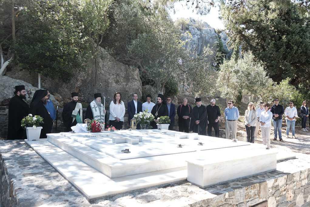Χανιά: Συγκίνηση στο μνημόσυνο του Κων. Μητσοτάκη