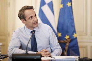 Κ.Μητσοτάκης: Συνεισφορά και στην έρευνα για τον κορωνοϊό