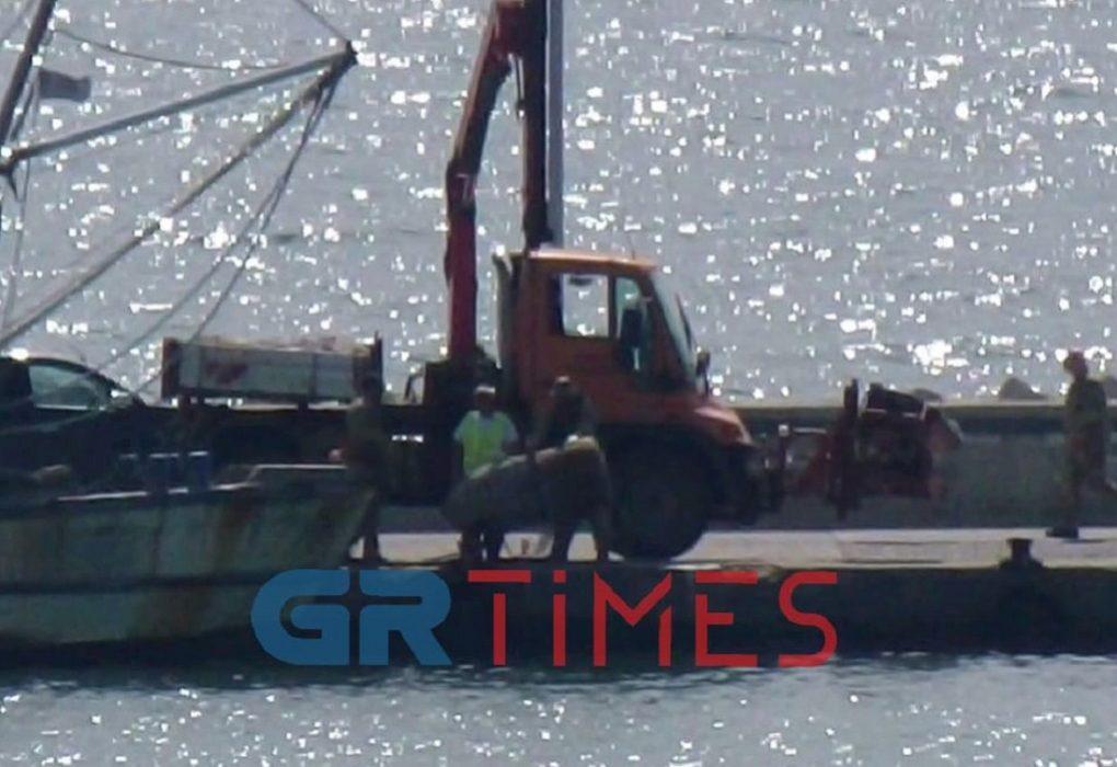 Η τεράστια γκάφα με τη νάρκη στη Ν.Μηχανιώνα – Όλη η επιχείρηση σε βίντεο