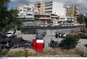 Αττική: Επίθεση με μολότοφ στο πάρκινγκ της Τροχαίας