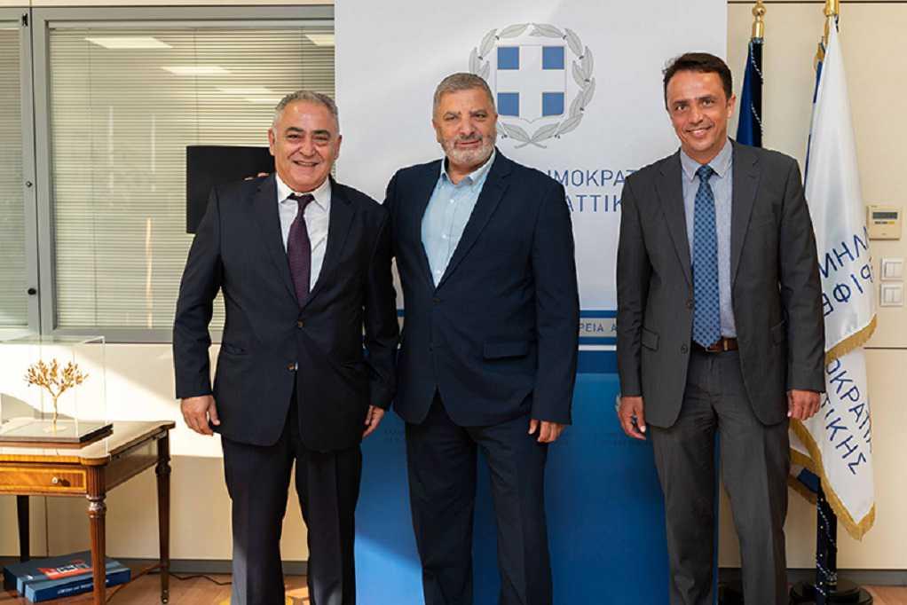 Συνεργασία Ε.Ε.Α. με την Περιφέρεια Αττικής