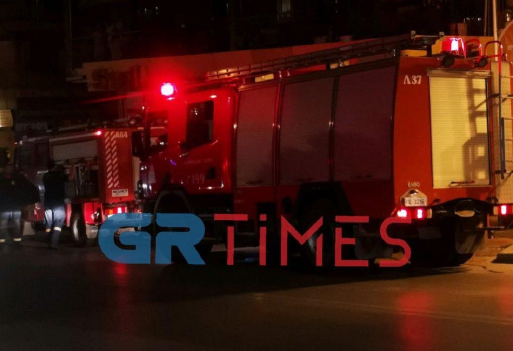 Θεσσαλονίκη: Στις φλόγες μονοκατοικία στο Δήμο Βόλβης