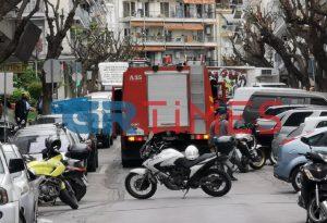 Έκρηξη σε διαμέρισμα στο κέντρο της Θεσσαλονίκης (ΦΩΤΟ+VIDEO)