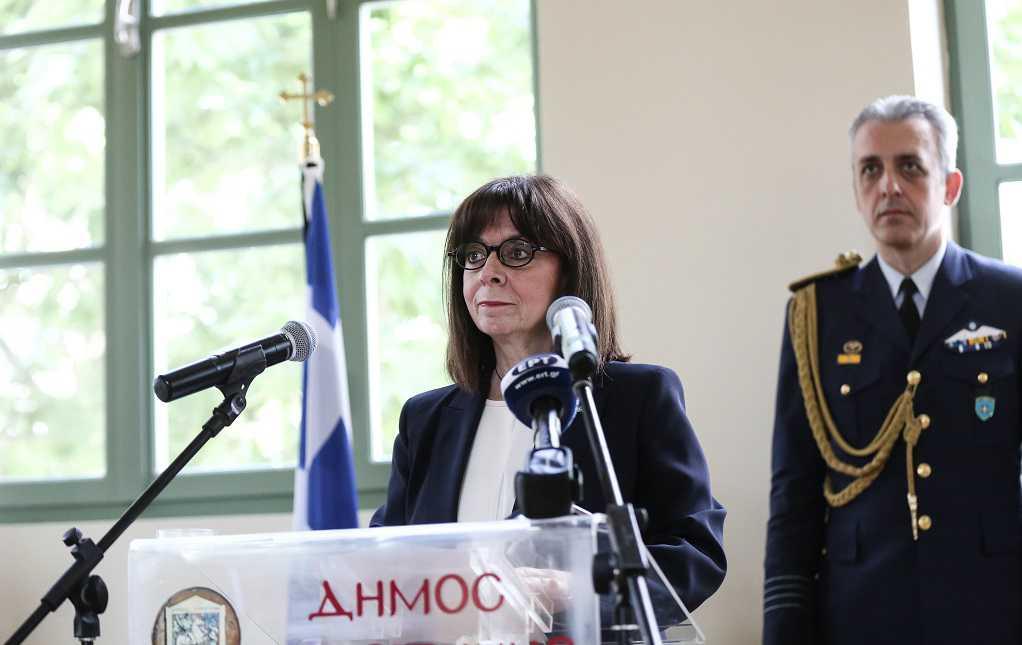 Στην Κομοτηνή η Κ. Σακελλαροπούλου – Με ποιους συναντήθηκε