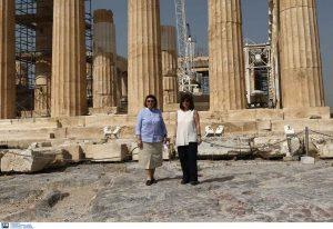 Στην Ακρόπολη η Κ. Σακελλαροπούλου (ΦΩΤΟ-VIDEO)