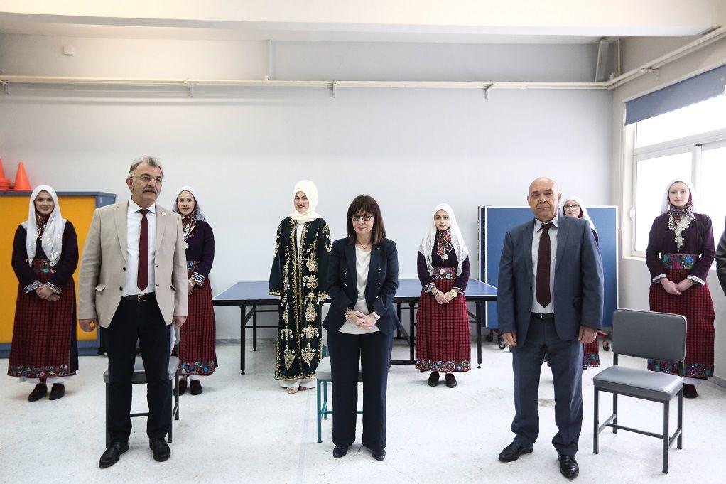 Ξάνθη: Επίσκεψη ΠτΔ στο σχολικό συγκρότημα Γλαύκης