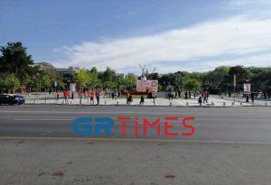 Θεσ/νίκη: Συγκέντρωση του ΠΑΜΕ στο Άγαλμα Βενιζέλου (ΦΩΤΟ-VIDEO)