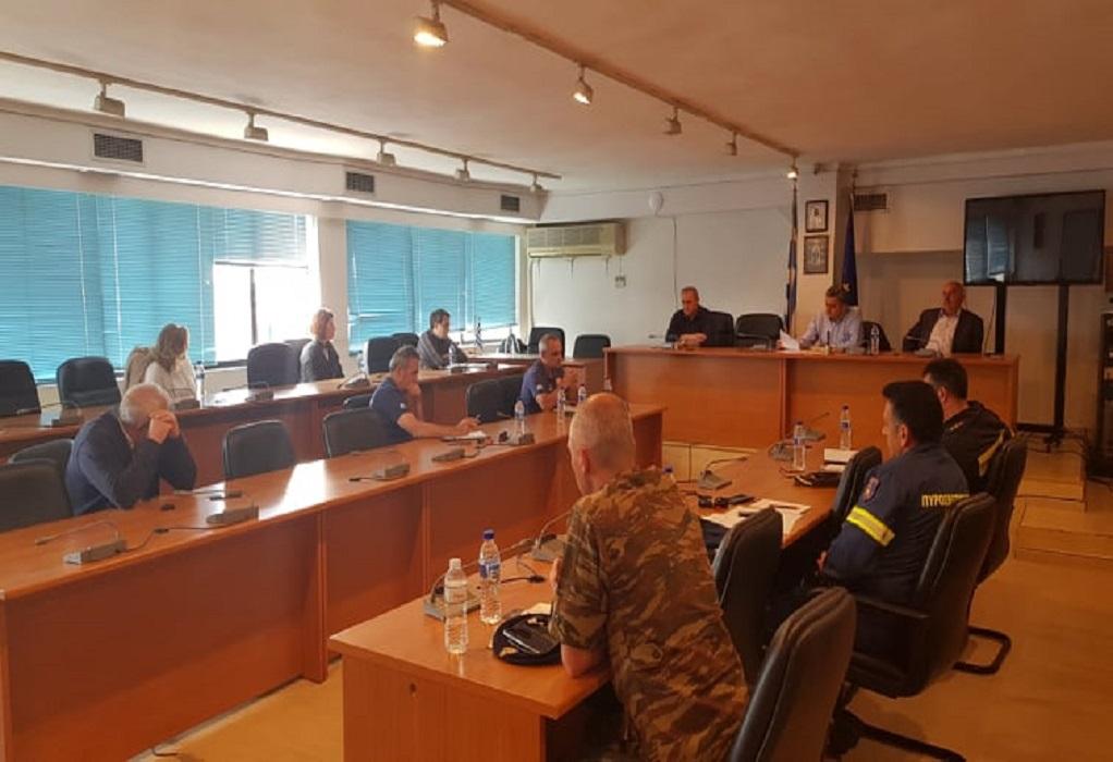 Δ. Λαγκαδά: Σύσκεψη για την αντιπυρική περίοδο