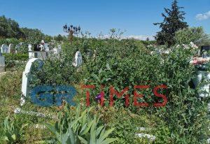 Θεσσαλονίκη: Τάφοι «θάφτηκαν» από τα αγριόχορτα! (ΦΩΤΟ)