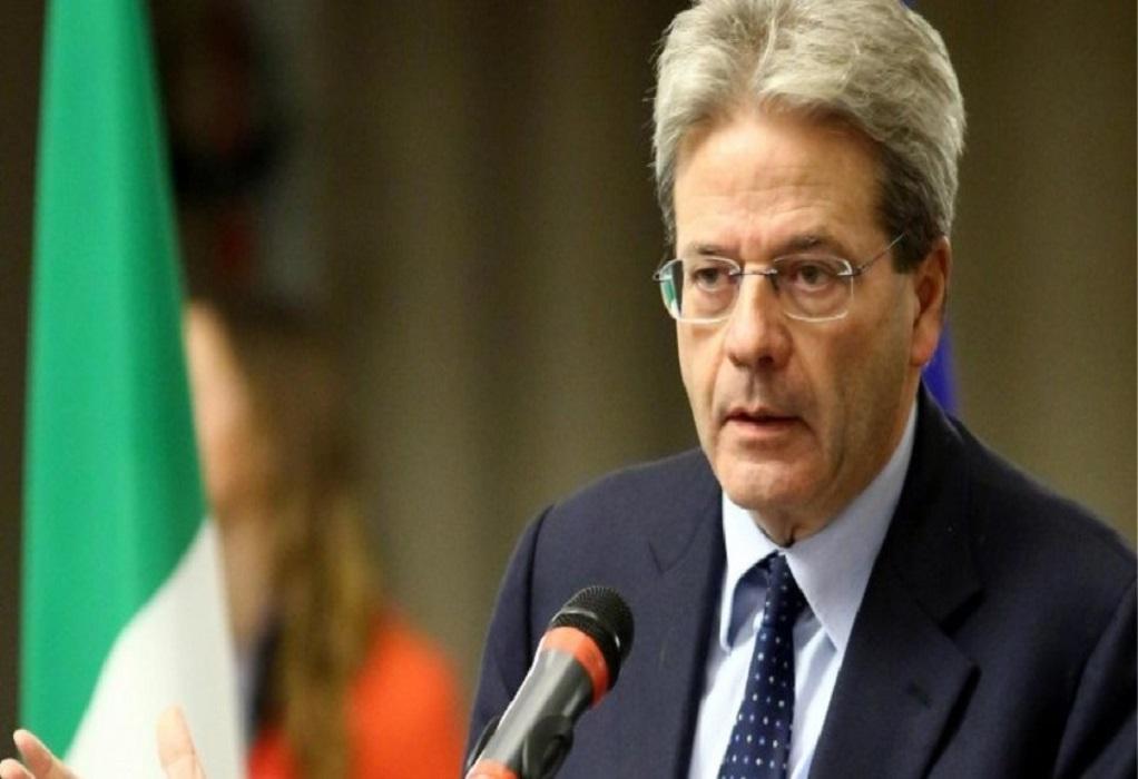Τζεντιλόνι: Εύσημα για τα μέτρα της ελληνικής κυβέρνησης