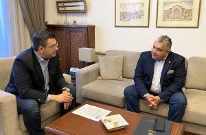 Συνάντηση Α. Τζιτζικώστα με τον Ν. Παπαϊωάννου