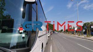 Πιερία: «Φρένο» στην έκτακτη ενίσχυση των τουριστικών λεωφορείων